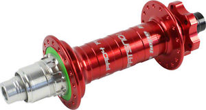 Hope Fatsno Pro 4 Rear Hub 32H 197mm x 12mm Red, XD