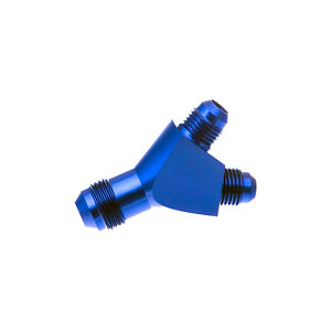 Redhorse Performance 930-08-06-1 -08 Single Inlet To -06 Dual Outlet – Blue