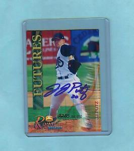2000 ROYAL ROOKIES FUTURES AUTOGRAPH J.J. PUTZ – Seattle Mariners RHP #2205/4950