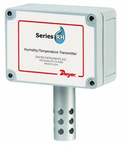 Dwyer Series RHP-3O10 Humidity Transmitter, OSA Mount, 4-20mA RH Output. Deliver