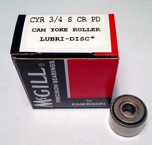McGill Bearing CYR 3/4 S Corrosion Resistant Cam Yoke Roller ()