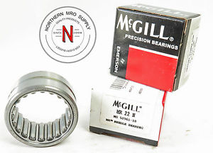 "McGILL MR-22-N PRECISION NEEDLE ROLLER BEARING, 1.375"" x 1.875"" x 1.000"""
