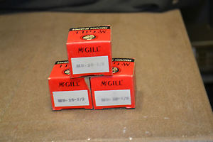 "(Lot of 3) McGill MB-25 1/2"" Insert Bearing"