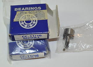 McGill CF-11/16 Cam Follower Bearing Lot of 2