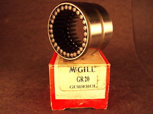 McGill GR20, GR 20 Guiderol® Center-Guided Needle Roller Bearing