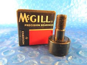 "McGill CCF 1S Cam Follower Bearing, 1"" Roller Diameter; 7/16"" Stud Diameter"