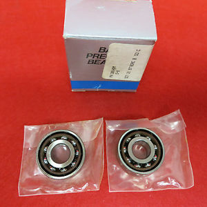 (New,opened) Barden Precision Bearings 201HDM Thrust Contact Ball Bearing(Qty 2)