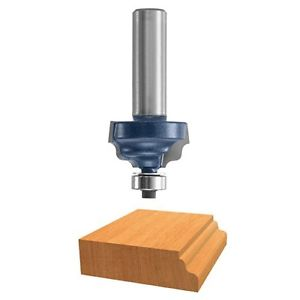 BOSCH Bosch 85607M Wavy Edge Router Bit 1/2-Inch Shank With Ball Bearing