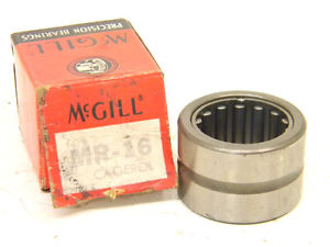 "SURPLUS McGILL CAGEROL BEARING MR-16 (O.D.-1.500"")"