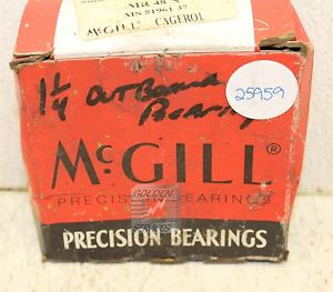 McGill MR 48 N MR Needle Roller Bearing