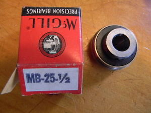ONE McGILL MB-25-1/2 INSERT BEARING NIB