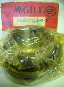 "McGill MB-25-2-1/4 2-1/4"" Precision Bearing New In Box"