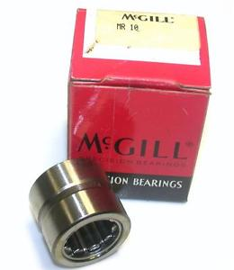 "BRAND  IN BOX MCGILL BEARING 5/8"" X 1-1/8"" X 1"" MR10 (2 AVAILABLE)"