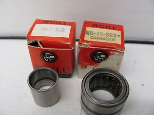 LOT OF 2 MCGILL PRECISION BEARINGS MR-16-SRS & MI-13