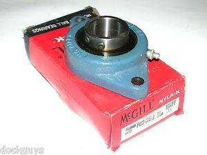 """BRAND  IN BOX MCGILL 2 BOLT FLANGE BEARING FC2-25-1 7/16"""" (4 AVAILABLE)"""