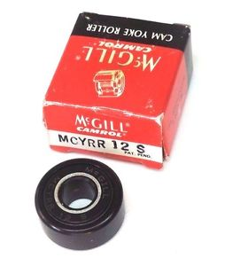 NIB MCGILL MCYRR12S CAM FOLLOWER 32MM, MCYRR 12 S