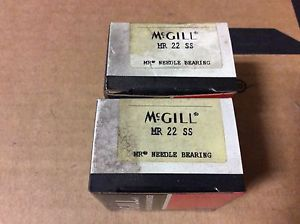 2-McGILL bearings#MR 22 SS ,Free shipping lower 48, 30 day warranty!