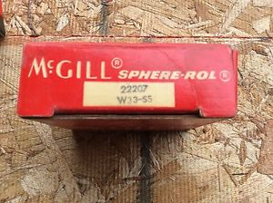McGILL  Bearings, Cat# 22207 W33-SS ,comes w/30day warranty, free shipping