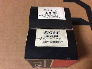 2-McGILL bearings#MR 28 RSS ,Free shipping lower 48, 30 day warranty!