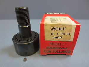 "1 Nib McGill CF-1-3/4-SB Cam Follower Bearing RD 1.7500"" RW 1.0000"" SD .7500"""
