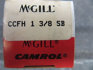 "McGill CCFH-1-3/8-SB Cam Follower 1-3/8"" !!! in Factory Box Free Shipping"
