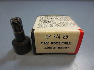 "1 Nib McGill CF-3/4-SB Cam Follower Bearing RD .7500"" RW .5000"" SD .3750"""