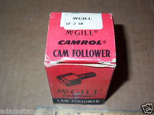 MCGILL CAMROL CAM FOLLOWER CF2B HEX SOCKET 2 IN DIAMETER