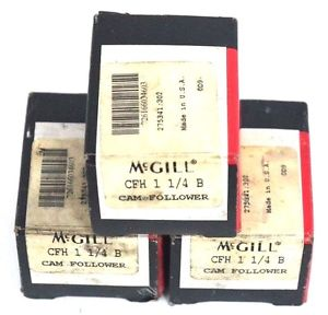 LOT OF 3 NIB MCGILL CFH 1 1/4 B CAM FOLLOWERS CFH114B
