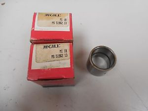 LOT OF 2 MCGILL INNER RACE BEARING MI 18 MI18 MS 51962 13 MS5196213 NIB