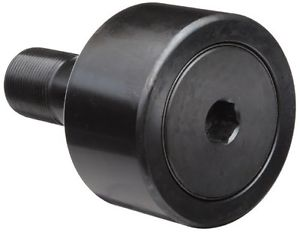 McGill CF1/2SB Cam Follower, Standard Stud, Sealed/Hex Hole, Inch, Steel, 1/2""