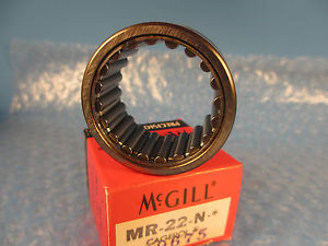 McGill MR22N, MR22 N, Outer Ring & Roller Assembly