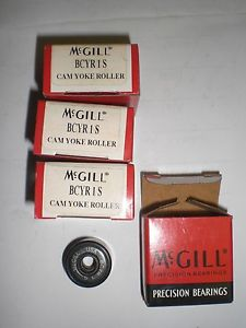 "McGILL BCYR-1-S  1"" CAM FOLLOWER. 0.625"" WIDTH, 0.3125"" BORE, BUSHING TYPE"