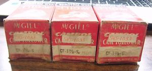 MCGILL LOT OF 3 CAM FOLLOWER CF-1-7/8 -S