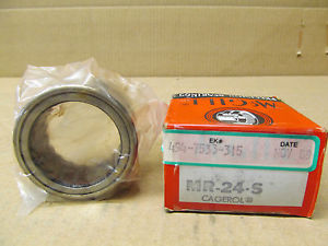 1 NIB MCGILL MR-24-S MR24S CAGED ROLLER BEARING