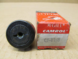 1 NIB MCGILL CF-1-1/8 CF11/8 CAM FOLLOWER NEEDLE ROLLER BEARING