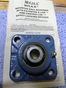 ONE McGILL FC4-25-1/2 FOUR BOLT NYLA-K FLANGE BEARING NIB