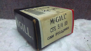MCGILL CAM FOLLOWER CFE 5/8 SB  CFE58SB