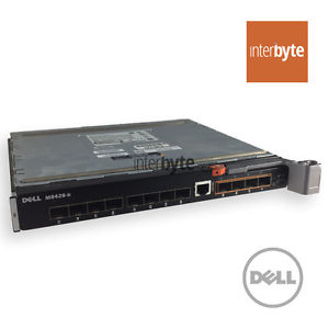 DELL M1000E CONVERGED 10GB SWITCH M8428-K 57821 RHP88 NETWORKING