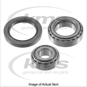 WHEEL BEARING KIT Mercedes Benz C Class Saloon C350CDI BlueEFFICIENCY W204 3.0L