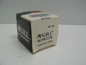 MCGILL PRECISION BEARINGS MCFR 22 SB CAM FOLLOWER 22MM