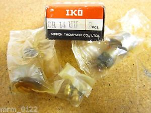 IKO CR14UU Cam Follower Bearings New