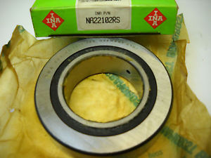INA NA22102RS CAM FOLLOWER NEEDLE ROLLER BEARING NA 2210.2RS  IN BOX