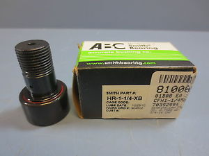 "1 Nib Smith Bearing Co HR-1-1/4-XB Cam Follower Bearing RD 1.2500"" RW .7500"""