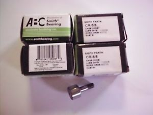 ABC Smith Bearing CR-5/8,  AS9100 (B) ISO9001:2000 cam follower Lot of 4