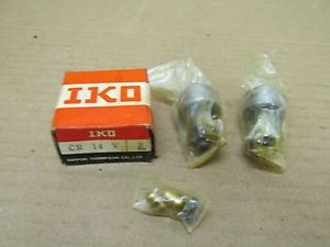 2 NIB IKO CR 14 V CR14V CAM FOLLOWER BEARING (LOT OF 2)