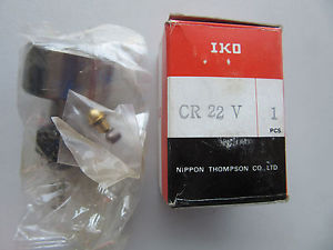 (2) IKO Nippon CR22V Cam Followers !!! in Box Free Shipping