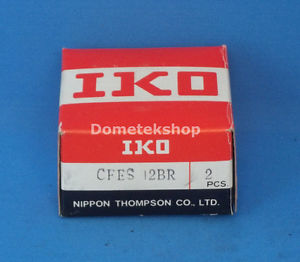IKO CFES 12BR Cam follower bearing set (New)
