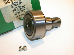 UP TO 8  INA 32MM NEEDLE ROLLER CAM FOLLOWER BEARINGS KRVE32PP