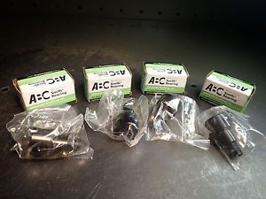 "4 Pc Smith CR-1-XBE Cam Follower Bearings 1"" Dia x 5/8"" Roller .030"" Eccentric"
