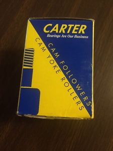 "NOS/NIB Carter CNB-80 2 1/2"" Unsealed Cam Follower"